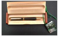 BOG OAK GOLDPLATED TWIST PEN