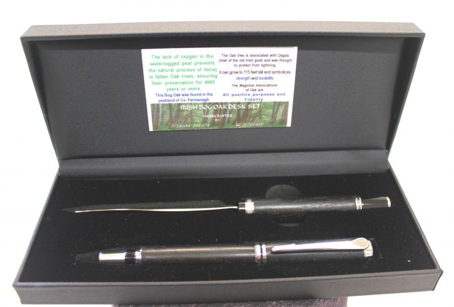 Wooden Penbog Oakwooden Bog Oak Pen Wooden Bog Oak Letter Opener